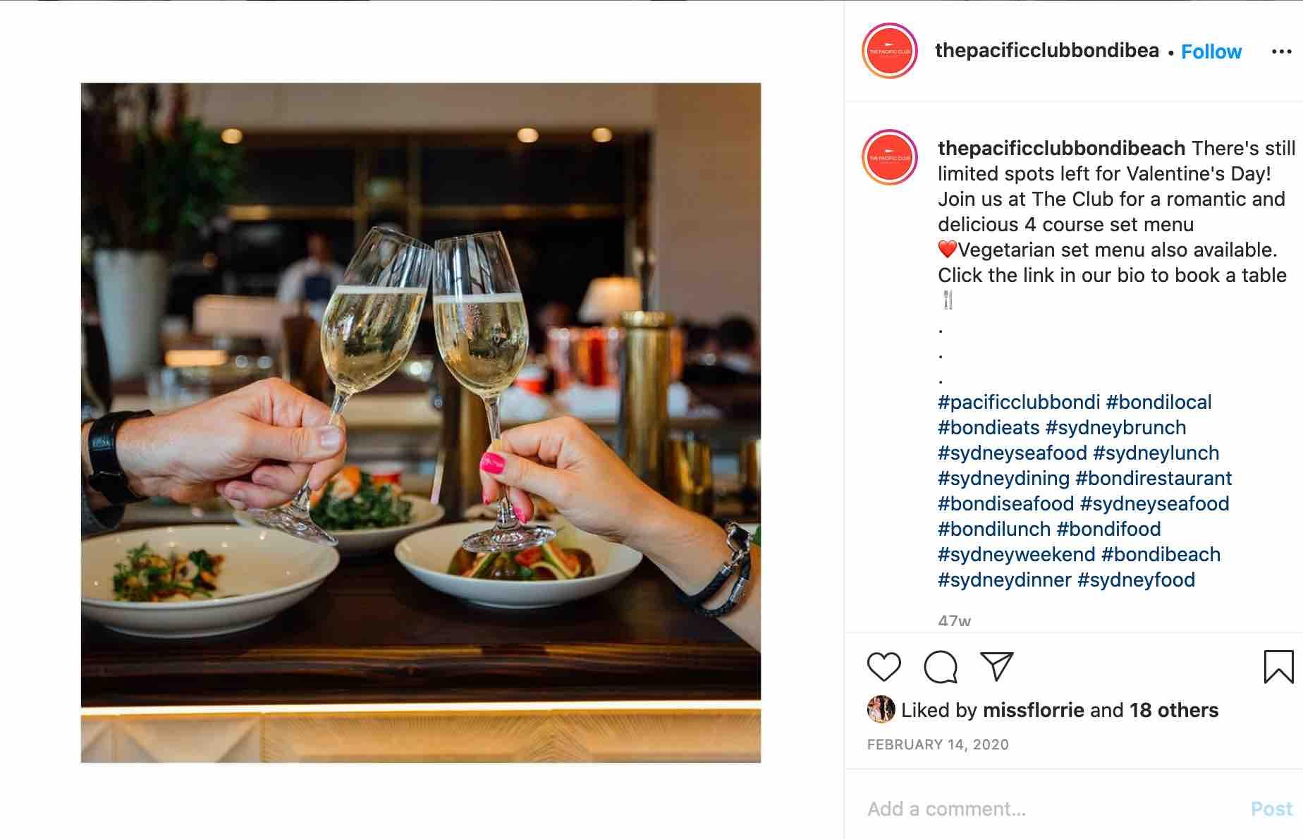 the pacific club bondi - best dating restaurants in sydney
