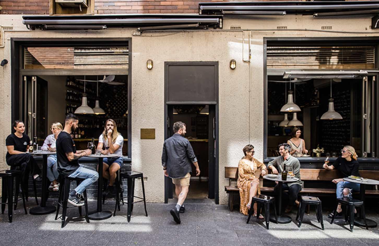 covid friendly restaurant for date in Sydney - dear sainte eloise
