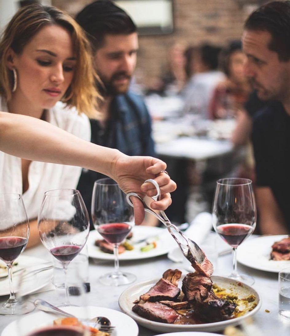 covid friendly restaurants sydney - porteno