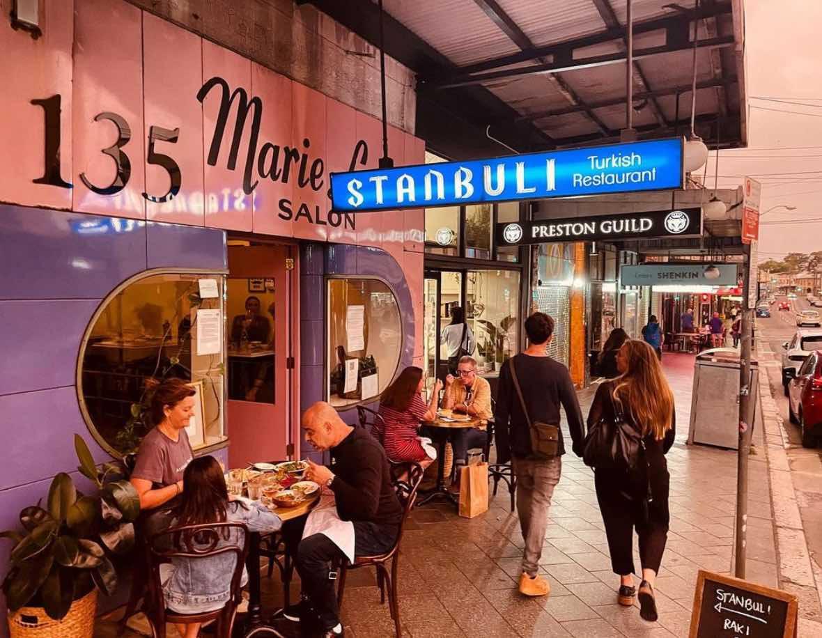 stanbuli - covid friendly sydney restaurants